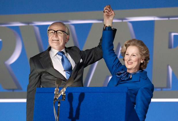 Margaret Thatcher, Iron Lady, Jim Broadbent, Meryl Streep