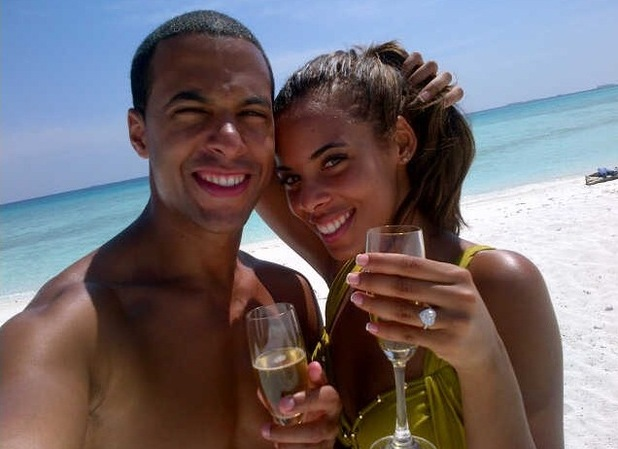 Rochelle Wiseman, Marvin Humes, engaged