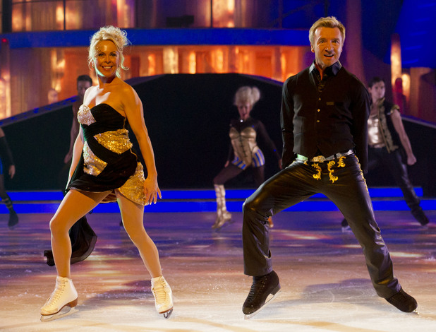 Jayne Torvill and Christopher Dean get the show off to a flying start