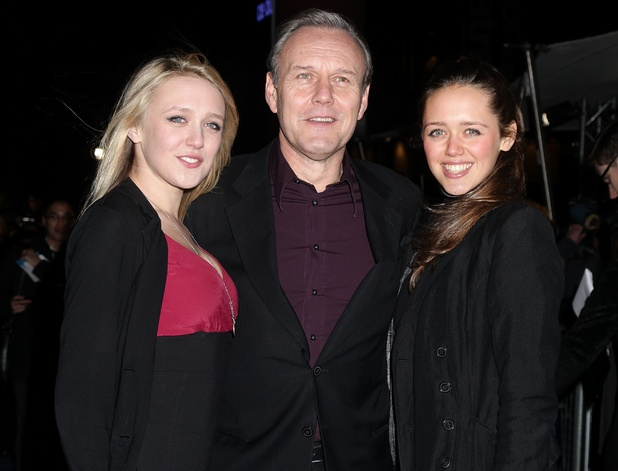 Anthony Head with daughters Emily (left) and Daisy (right)