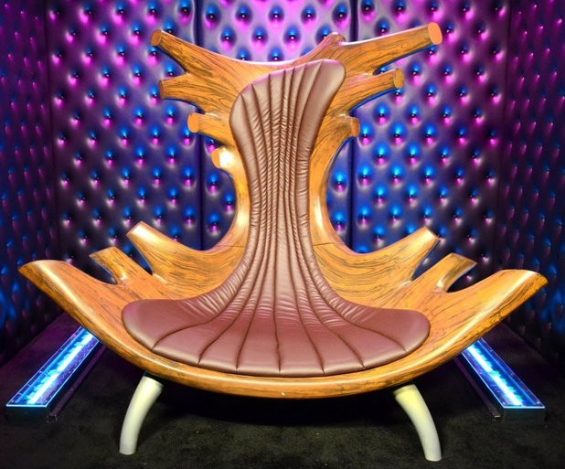 The Celebrity Big Brother Diary room chair