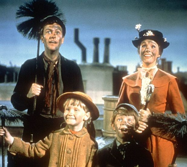 Mary Poppins, Dick Van Dyke, Karen Dotrice, Matthew Garber, Julie Andrews