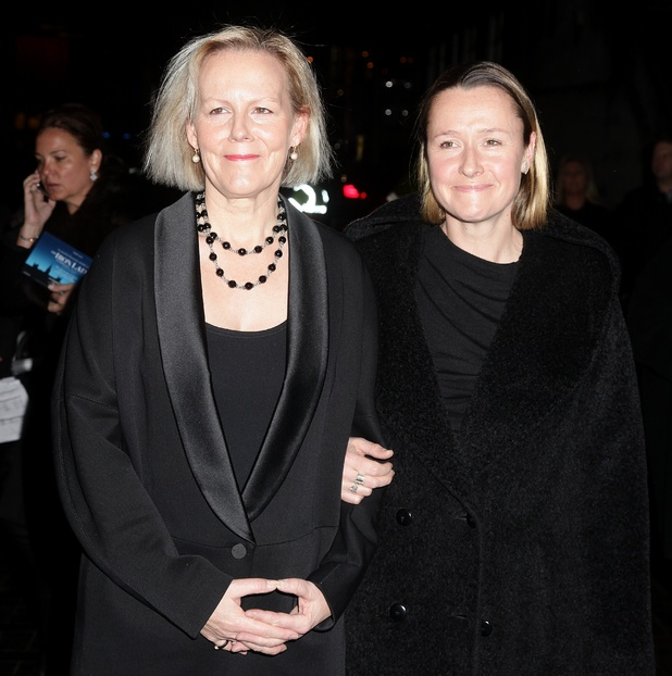Director Phyllida Lloyd and Sarah Cooke