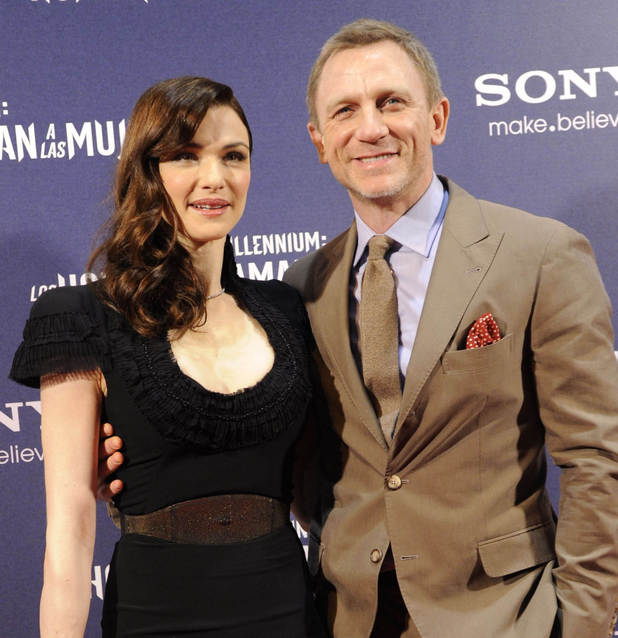Rachel Weisz, Daniel Craig, The Girl With The Dragon Tattoo
