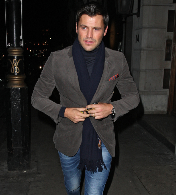 Mark Wright leaving Nobu Berkley restaurant London