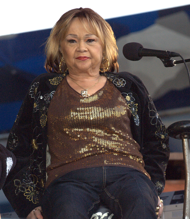 Etta James performs at the New Orleans Jazz & Heritage Festival, 2009