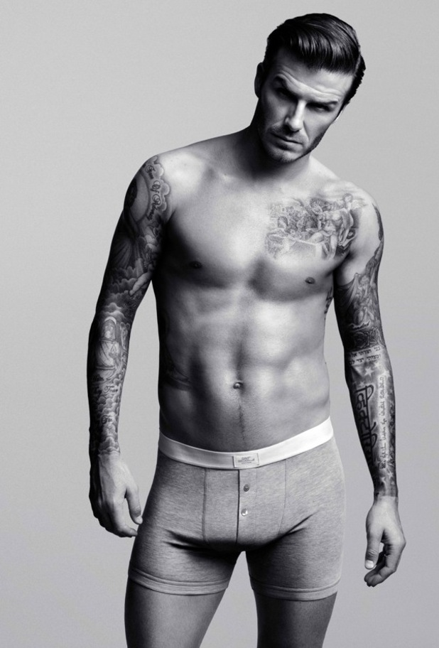 David Beckham Is No Stranger To Modeling Underwear  But This Time It S