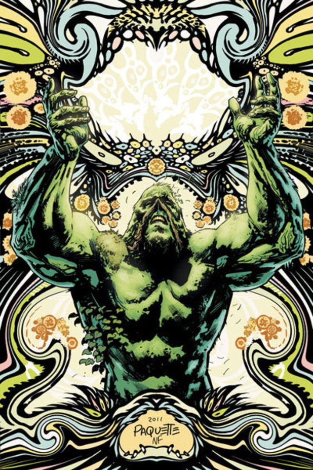 'Swamp Thing' #7