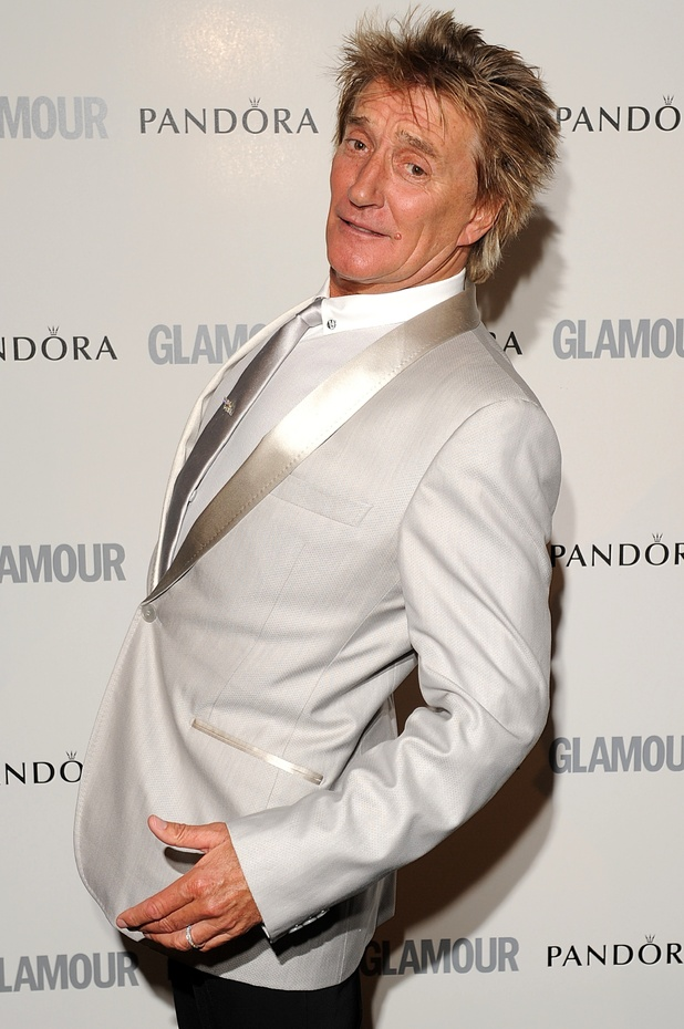 Rod Stewart - The much-loved singer, and father of eight, is 67 on Tuesday.