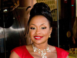 Phaedra Parks leaving a Manhattan hotel ahead of the Bravo Upfront event New York City, USA - 04.04.12