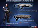 Mass Effect 3's retailer-specific pre-order bonuses are revealed.
