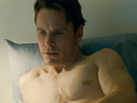 Watch Michael Fassbender's sex addict try to pick up a stranger on the New York subway.