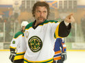 Seann William Scott thrives as a brawling enforcer in this decent ice hockey comedy.