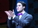 Darren Criss takes over from Daniel Radcliffe in the Broadway musical.