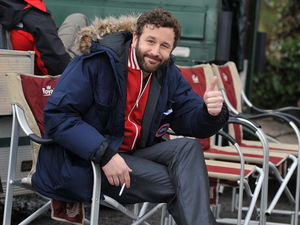 Chris O'Dowd Film set for the six-part comedy series 'Moone Boy' Boyle, Ireland