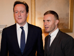 Gary Barlow, David Cameron