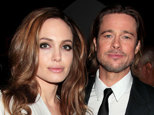 Angelina Jolie and Brad Pitt at the New York Film Critics Circle Awards
