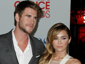 The People's Choice Awards 2012: Liam Hemsworth and Miley Cyrus