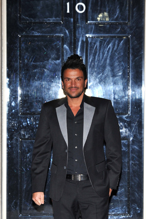 Peter Andre Children In Need - drinks reception held at 10 Downing Street - Arrivals. London