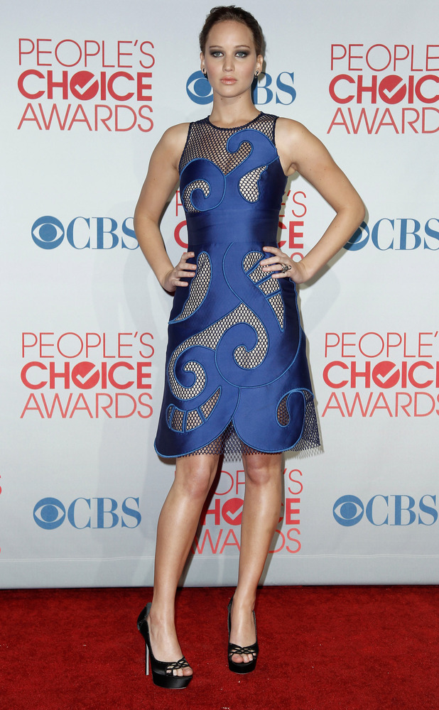 The People's Choice Awards 2012: Jennifer Lawrence