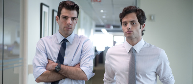 Zachary Quinto, Penn Badgley, Margin Call