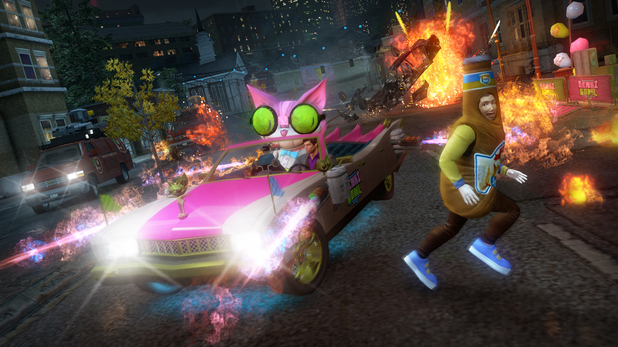 Saints Row The Third Genki Bowl VII DLC