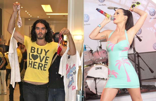 Katy Perry, Russell Brand, tattoos