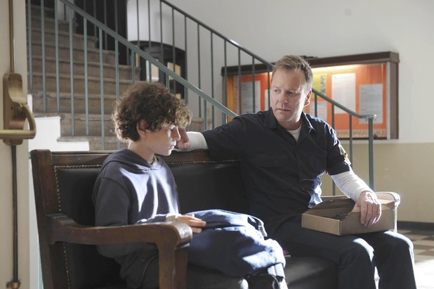 Kiefer Sutherland in the Pilot episode of 'Touch'
