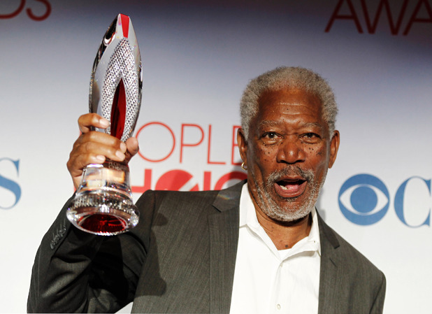 The People's Choice Awards 2012: Morgan Freeman