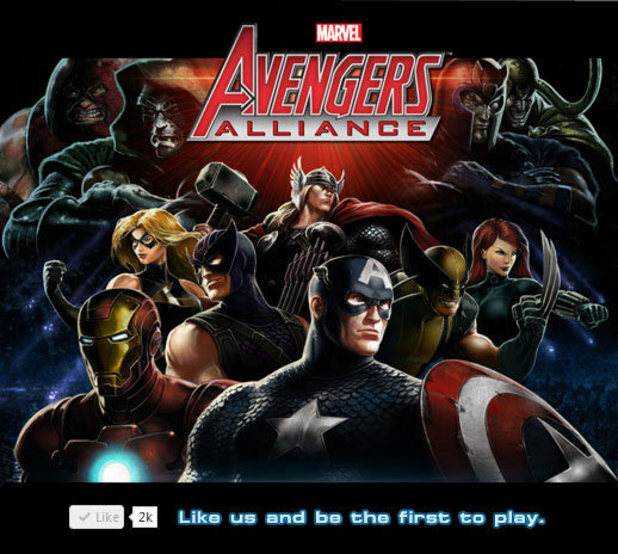 &#39;Marvel: Avengers Alliance&#39; Facebook game 