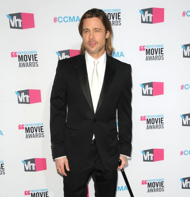 Brad Pitt, 17th Annual Critics Choice Movie Awards