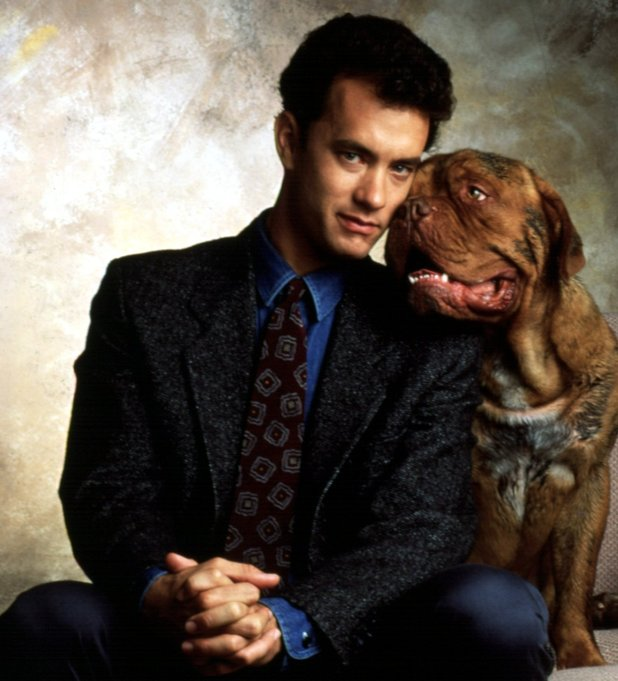 Tom Hanks and Hooch