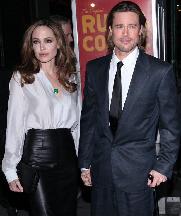 Angelina Jolie and Brad Pitt 77th Annual New York Film Critics Awards Gala - Arrivals New York City