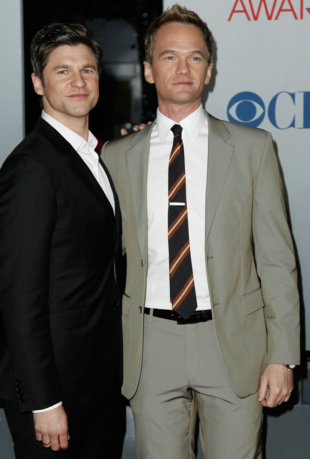 Neil Patrick Harris with David Burtka