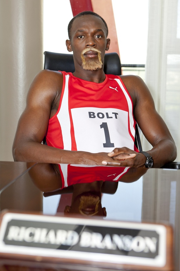 Virgin Media ad campaign featuring Usain Bolt