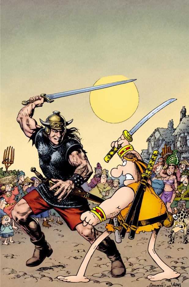 Conan vs Groo