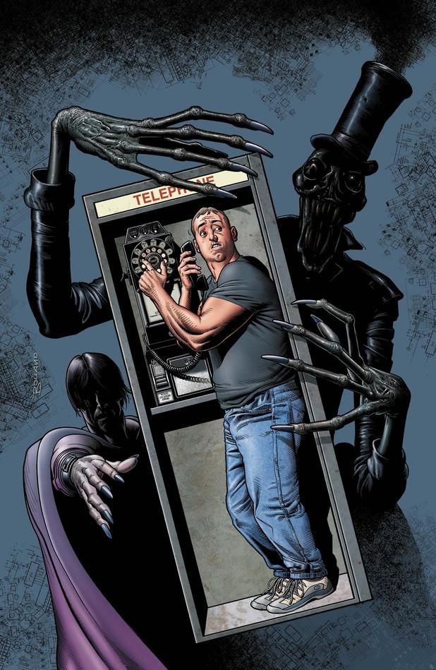 'Dial H' image. Artist: Mateus Santoluoco for DC Comics.