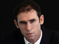Martin Keown hit with football - video