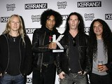 Jerry Cantrell, William DuVall, Sean Kinney and Mike Inez of Alice in Chains