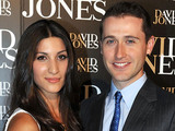 Houda Vakili and Tom Waterhouse