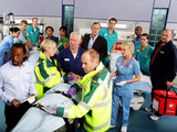 Casualty cast shot