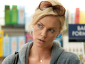 Charlize Theron is, like, totally cool as a writer of teen fiction who is living in the past.