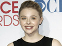 Moretz beat out Dakota Fanning, Emily Browning and Haley Bennett for the role.