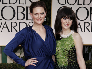 Siblings Emily and Zooey Deschanel