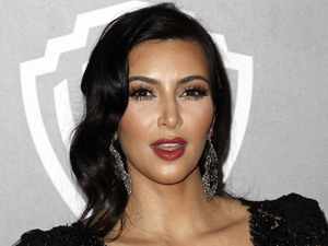 Kim Kardashian, Warner Brother after party