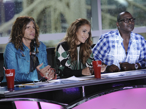 American Idol Season 11 - Pittsburgh Auditions - Steven Tyler, Jennifer Lopez and Randy Jackson