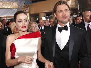 Brad Pitt, Angelina Jolie, Golden Globes