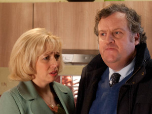 Brian tells Julie he has formulated a plan after being told by the school governors that results have been terrible and he may lose his job