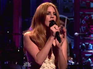 Lana Del Rey NBC's 'Saturday Night Live' Season 37 Episode 12 Daniel Radcliffe hosts with musical guest Lana Del Rey