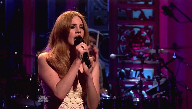 Lana Del Rey's SNL performance